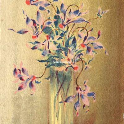1270 - Fleurs en vase