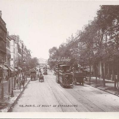128 - Le Boulevard de Strasbourg