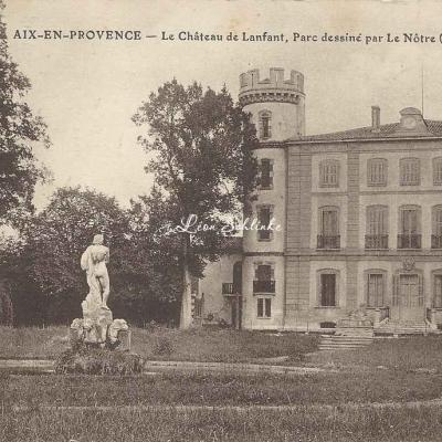 13-Aix en Provence - Château de Lanfant (Germanet)
