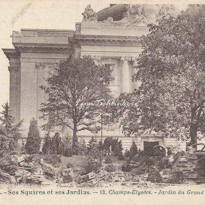 13 - Champs-Elysées - Jardin du Grand Palais