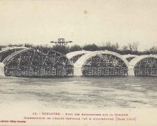 13 - Construction de l'arche centrale (Mars 1906)