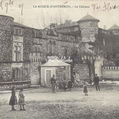 13-La Roque-d'Anthéron - Le Château (Coll. L.A.)