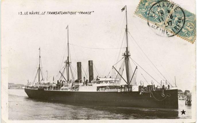 13 - Le Hâvre - Le Transatlantique France
