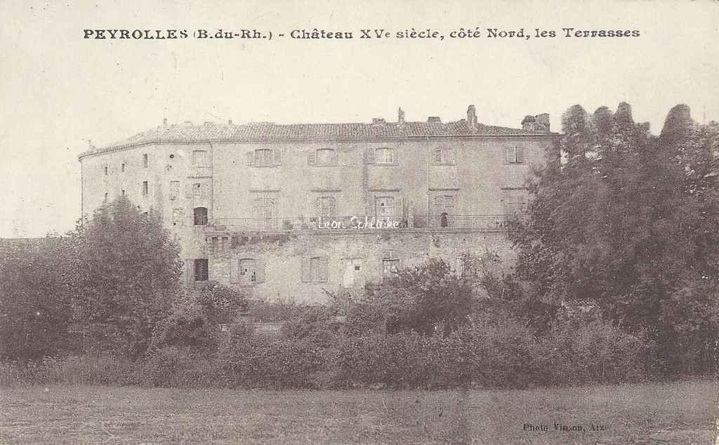 13-Peyrolles - Le Château (Phot. Vinson)