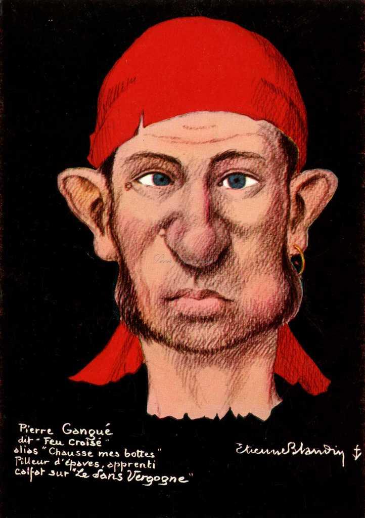13 - Pierre Gangue dit Feu croisé alias Chausse mes bottes (N)