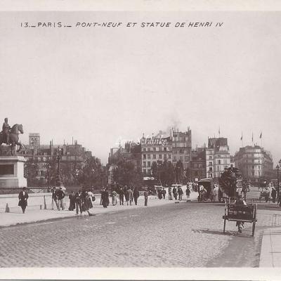 13 - Pont-Neuf et statue de Henri IV
