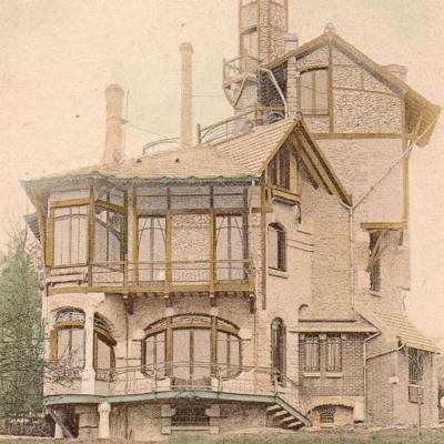 13 - Style Guimard - Castel Henriette à Sèvres