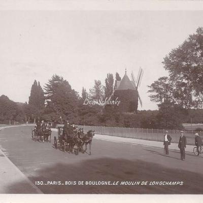 130 - Bois de Boulogne - Le Moulin de Longchamps