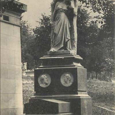 131 - La Douleur de Félix Charpentier - Monument de Garet, Ingénieur au P.L.M.