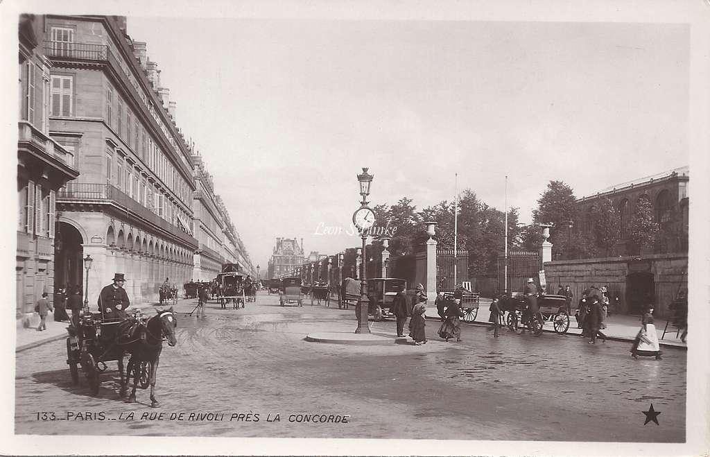''Etoile'' 133 - La Rue de Rivoli près la Concorde