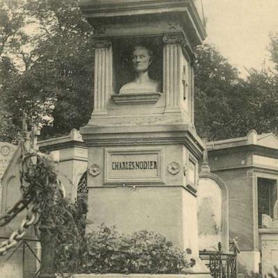 133 - Nodier Charles, Poète et Littérateur, Administrateur de la Bibliothèque de l'Arsenal