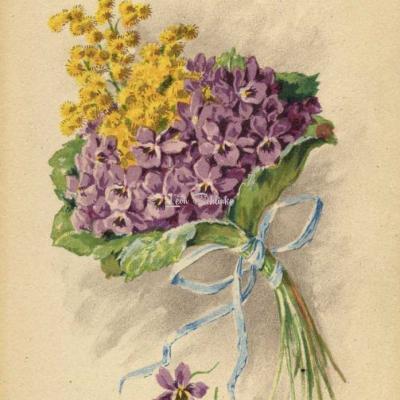 1340 - Bouquets de Fleurs