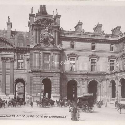 138 - Les Guichets du Louvre côté du Carrousel
