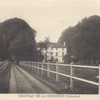 14-Auvillars - Château de la Boissière - Ss edit)