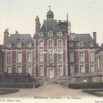 14-Balleroy - Le Château (E.Féron)