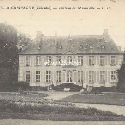 14-Banneville-la-Campagne - Château de Manneville (L.D.)