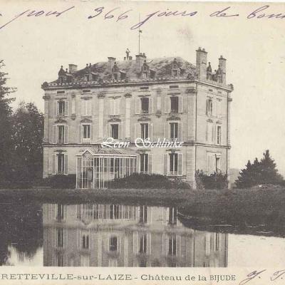 14-Bretteville-sur-Laize - Château de la Bijude (C.Jeanne 5)