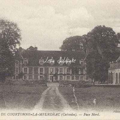 14-Courtonne-la-Meurdrac - Le Château (Fillion à Lisieux)