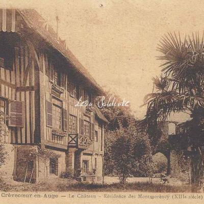 14-Crèvecoeur-en-Auge - Le Château (Ed.Lhonneur, Café)
