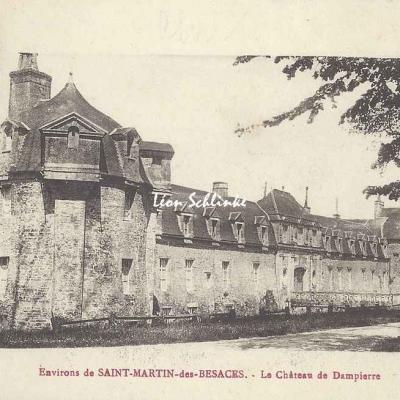 14-Dampierre - Le Château (Lib. H.Ermice)