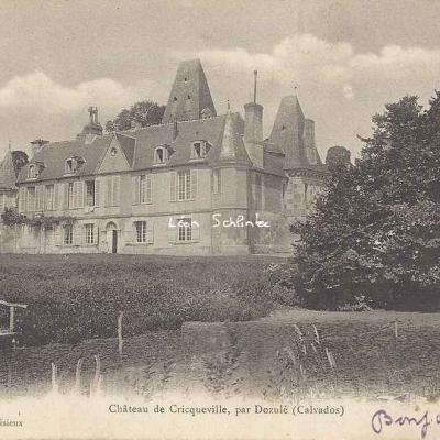 14-Dozulé - Château de Cricqueville (J.Fillion à Lisieux)
