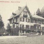 14-Dozulé - Manoir de Siville (Fillion)