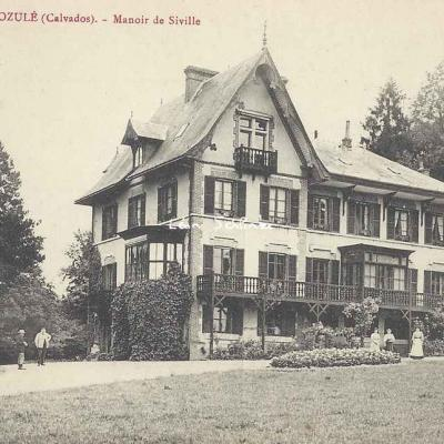 14-Dozulé - Manoir de Siville (Fillion)