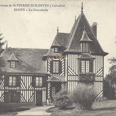 14-Ecots - La Granchette (Landais, buraliste)