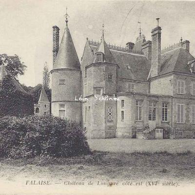 14-Falaise - Château de Longpré (ND 110)