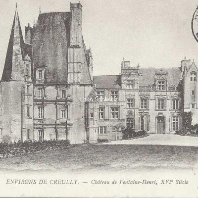 14-Fontaine-Henry - 7 - Le Château (ND Phot)