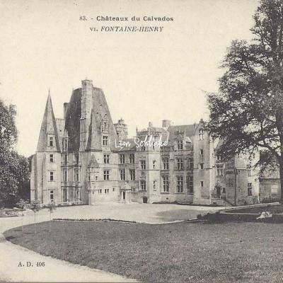 14-Fontaine-Henry - 83 - Le Château (A.D. 406)