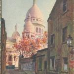 14 - La Basilique vue de la rue du Ch. de la Barre