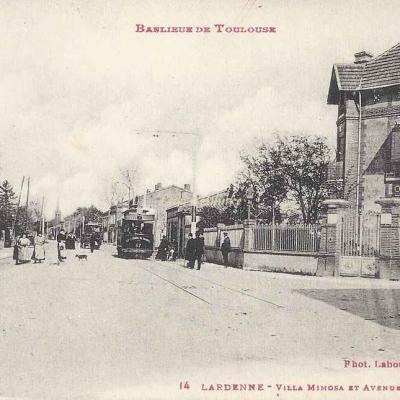 14 - Lardenne - Villa Mimosa et Avenue de Plaisance