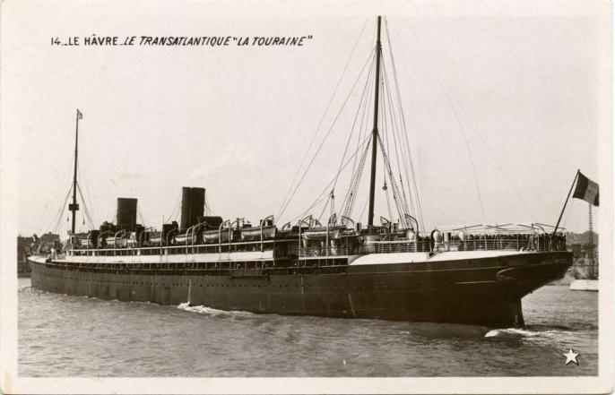 14 - Le Hâvre - Le Transatlantique La Touraine