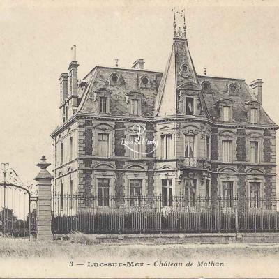 14-Longvillers - Château de Mathan (BF 3)