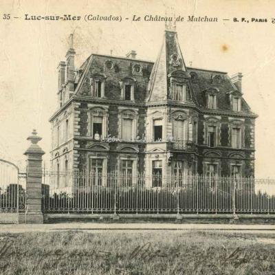 14-Luc sur Mer - Château de Matchan (BF 35)
