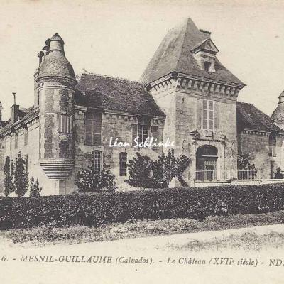 14-Mesnil-Guillaume - Le Château (ND 6)