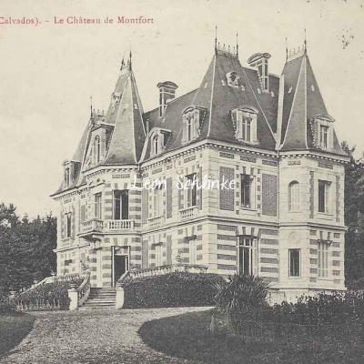 14-Meulles - Château de Montfort (P.Bunel)