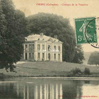 14-Orbec - Château de la Vespière (P.Bunel)