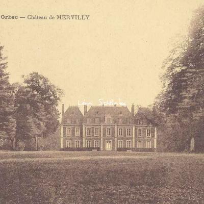 14-Orbec - Château de Mervilly (Thiriat à Toulouse)