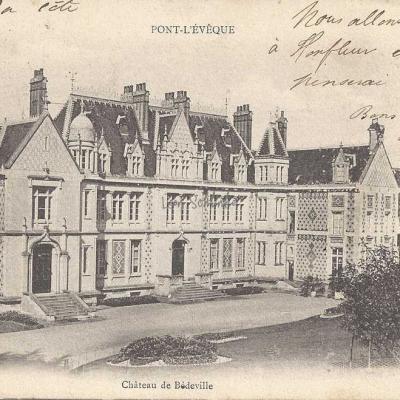 14-Pont-l'Evêque - Château de Bédeville (Ozange)