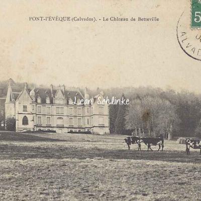 14-Pont-l'Evêque - Château de Betteville (R.Barbier)