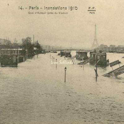 14 - Quai d'Auteuil (près du Viaduc)
