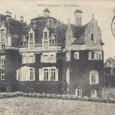 14-Reux - Le Château (R.Barbier)