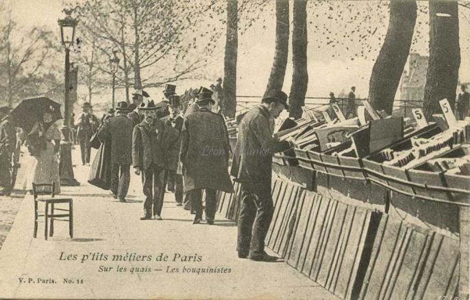 14 - Sur les quais - Les bouquinistes