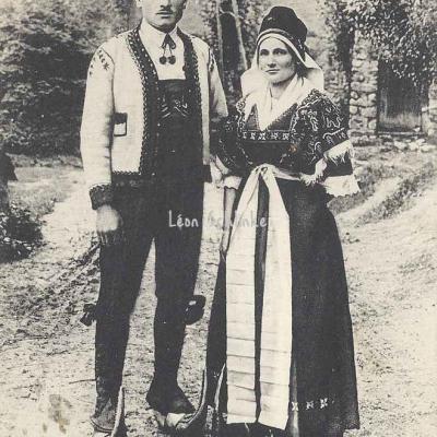 14 - Un couple bethmalais (Ariège)