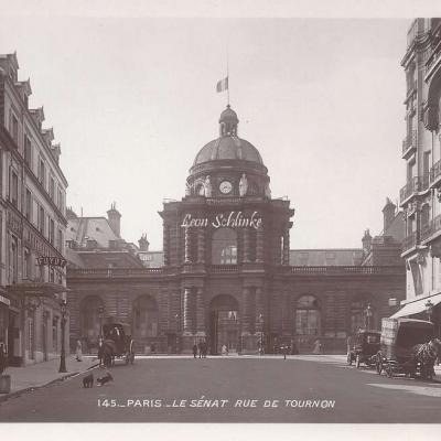 145 - Le Sénat rue de Tournon