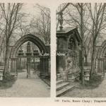 146 - Paris, Musée Cluny - Ruines dans le Jardin