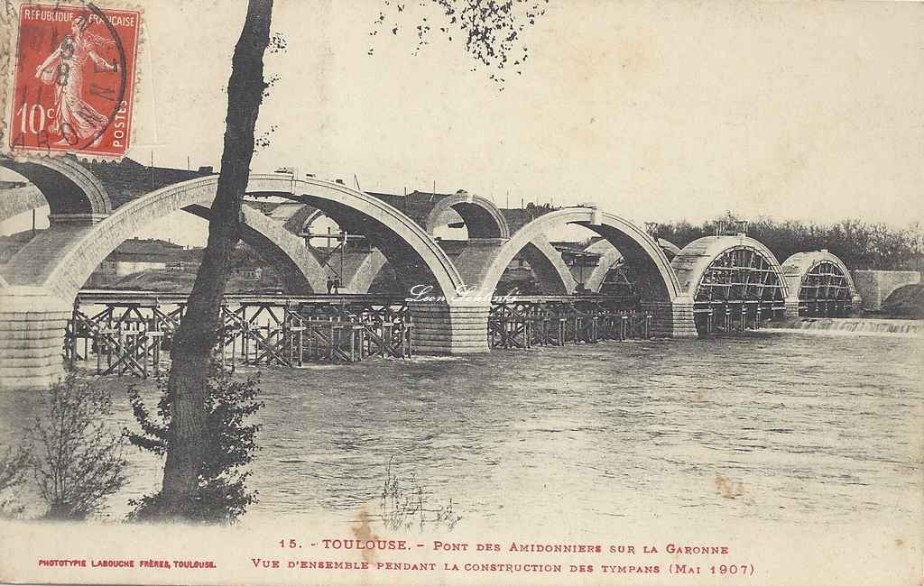 15 - Construction des Tympans (Mai 1907)