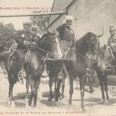15 - L'Amiral Fournier et le Prince des Asturies à Aygrefeuille